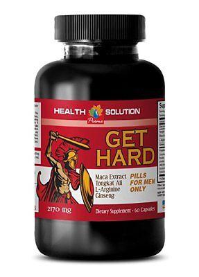 Libido max for men - GET HARD PILLS - longjack supplement - 1 Bottle
