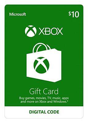 Microsoft Xbox Live $10 Gift Card
