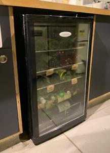 Wine Fridge (under counter, 40 bottles)