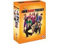 The Big Bang Theory DVD Box Set Seasons 1 - 5