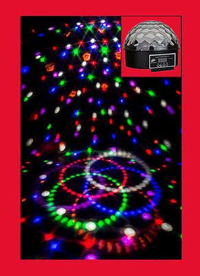 Das Orginal  LED Diamond II  JB Systems 6x3 Watt Lichteffekt Kugel-Disco-Party