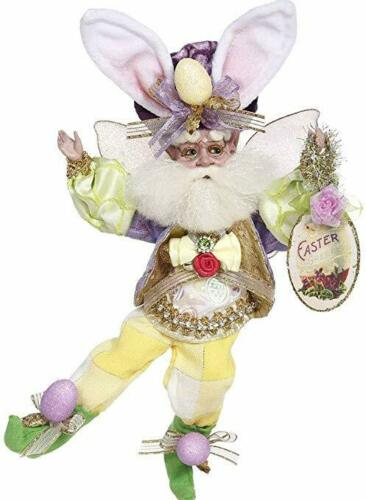 """NEW Mark Roberts Limited 2020 Easter Egg 10"""" Collectible Elf Fairy Bunny Ears"""