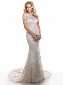 Maggie Sottero 'Chesney' Wedding Dress (optional crystal jacket) Adamstown Newcastle Area Preview