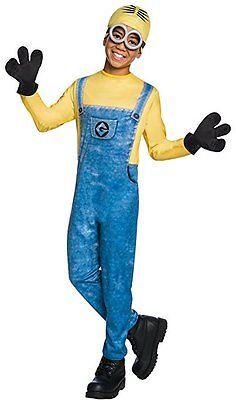 Rubies Dave Minion Einfach Unverbesserlich Me 3 Film Kinder (Einfacher Junge Kostüme)
