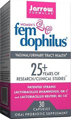 Jarrow Formulas Fem-Dophilus, 5 Billion Organisms, For Vaginal and UTI 30 -