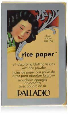 3 Palladio Rice Paper Tissues Natural Face Care 40 tissues RPA3 for sale  Shipping to India
