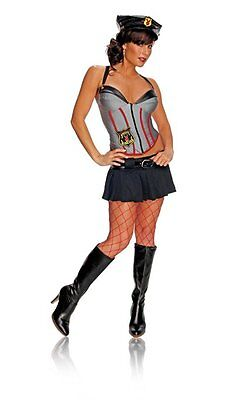 Playboy Bunny Security Mansion Costume Adult's Medium 6-10 Secret Wishes NEW
