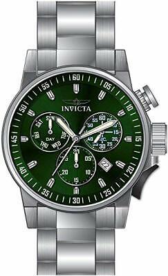 Invicta I-Force Chronograph Quartz Green Dial Men's Watch 31631