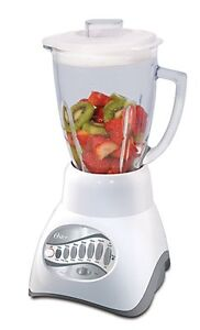 OSTER 6-CUP GLASS JAR 12-SPEED BLENDER - As New