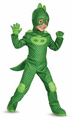Disguise Disney Junior PJ Masks Gekko Deluxe Toddler Halloween Costume 17166](Costume Disguise)