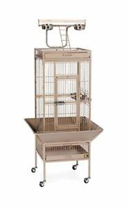 2 Parrot Cages with Play Top