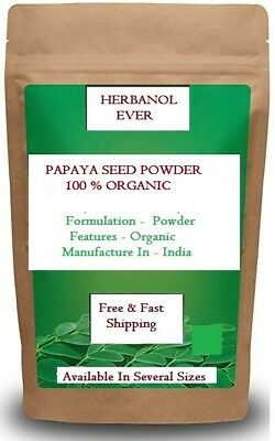 PURE Dried Papaya Seeds Powder Herbal for Health  (100 % Best)   Fast