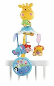 Fisher Price Mobile Crib Baby bebe Discover n Grow Two in One