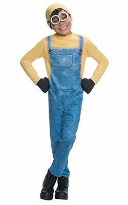 Rubies Costumes - Minions Bob Jumpsuit Child Costume Size XS 4-6 - Minions Kids Costume