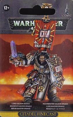 Lord Kaldor Draigo Grey Knights Space Marines Blister Warhammer 40K NIB