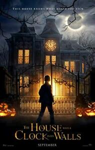 House with a Clock in its Wall original Movie Poster