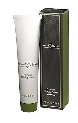 Edwin Jagger Premium Shaving Cream Aloe Vera 2.5 OZ - Edwin Jagger Aloe