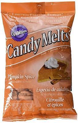 Orange Candy Melts ((Pack of 5) Wilton Candy Melts 10 oz. - Pumpkin)