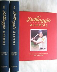 "The Dimaggio Albums: ""2 Volume Boxed Set"" - mint"