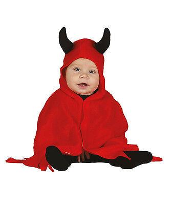Teufel Baby Kostüm Kleinkind Halloween Kostüm 6-12 & 12-24 Monate Neu