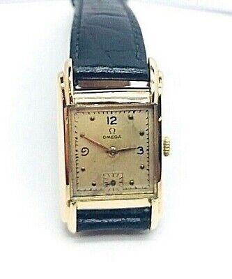OMEGA 1940's Steel & Rose Gold Plated Top Case Mechanical Movement Ladies Watch segunda mano  Embacar hacia Spain