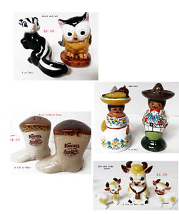 Sets of Collectible Salt  Pepper Shakers West Island Greater Montréal image 5