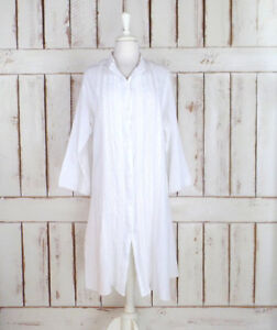 Vintage white tunic/cover up/dress
