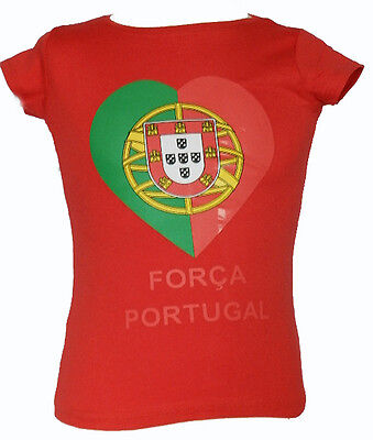 *KINDER Mädchen  FUSSBALL TRIKOT *PORTUGAL*