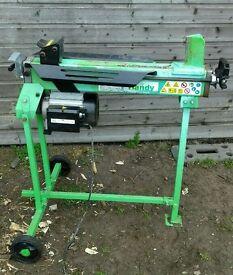 Log Splitter 6 ton *Electric*Hydraulic*