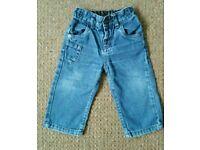NEXT baby boy jeans 9-12 months