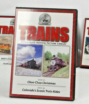 Trains Of North America Choo Choo Christmas Colorado's Scenic 2 DVD set.