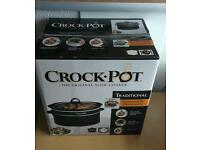 Brand new unopened crock pot/ slow cooker