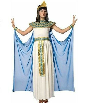 LAST ONE WOMENS CLEOPATRA EGYPTIAN QUEEN HALLOWEEN COSTUME DRESS SZ L 12-14 - Womens Cleopatra Costume
