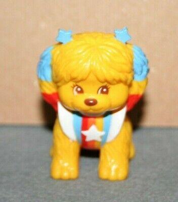 Vintage 1983 Rainbow Brite Puppy PVC Hallmark Toy / Cake Topper figure Dog