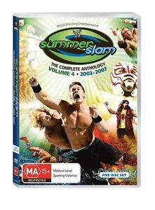 WWE-Summerslam-Anthology-Vol-4-DVD-5-Disc-Set-FREE-Slip-Cover-WRESTLING