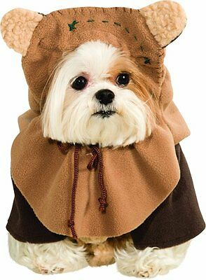 Rubies Star Wars Ewok Teddy Bears Skywalker Dog Pet Halloween Costume 887854