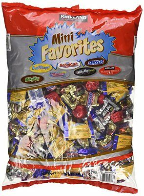 Halloween Candy Assortment Kirkland Mini Favorites, Hershey Mini, Funhouse bags