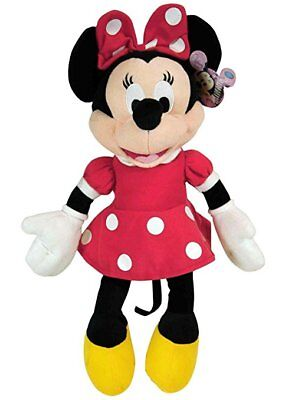 """Red MINNIE MOUSE Soft PLUSH DOLL Toy  15"""" Great Gift Licensed DISNEY"""