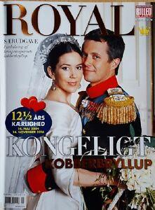 ROYAL Prinzessin Princess Mary Prinz Frederik Hochzeit Wedding 12,5 Jahre Years
