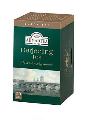 """AHMAD OF LONDON """"DARJEELING TEA, ONE BOX OF 20 TEABAGS NEW, used for sale  Orlando"""