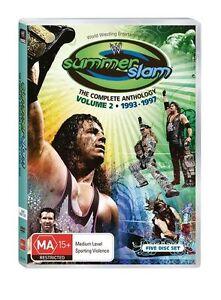 WWE-Summerslam-Anthology-Vol-2-DVD-5-Disc-Set-Free-Slip-Cover-WRESTLING