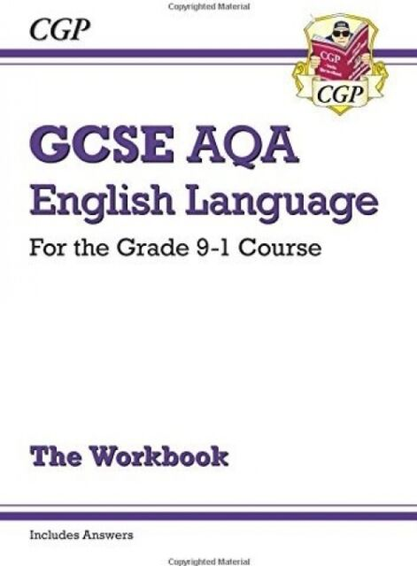 New GCSE English Language AQA Workbook - For The Grade 9-1 Course FAST DELIVERY