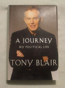 A journey my political Life by Tony Blair in english