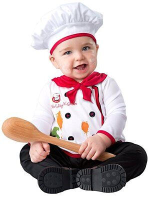 Incharacter Hugs & Quiches Cute Chef Food Infant Baby Halloween Costume 16060