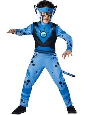 Incharacter Wild Kratts Blue Cheetah PBS Animal Kids Halloween Costume - Pbs Halloween Costumes