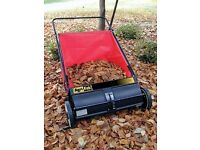 "26"" Leaf/Lawnsweeper (condition like brand new)"
