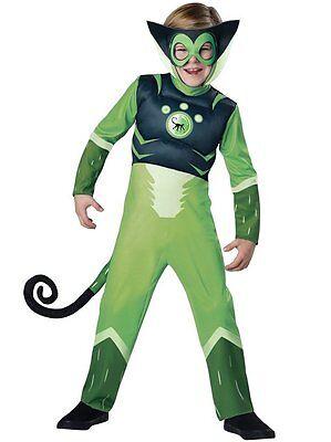 InCharacter Wild Kratts Green Spider Monkey Boys Child Halloween Costume 142110 - Wild Child Halloween Costume