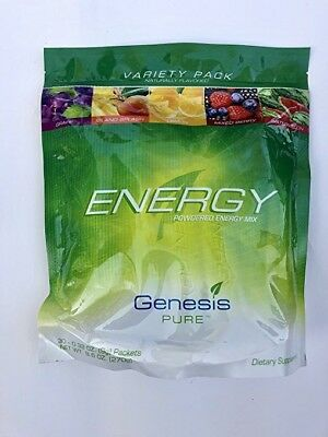 Energy     Variety Pack By Genesis Pure 30    32 Oz  9G  Packets
