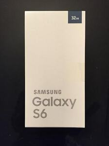 Samsung S6 brand new in the box 32 GB locked to Rogers