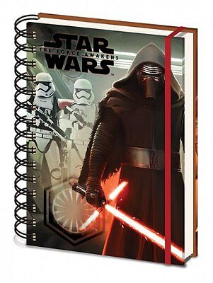 Star Wars Episode Vii (Kylo Ren & Troopers) COVER A5 WIRO Notebook - SR71993